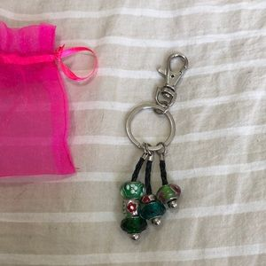 Beaded key chain